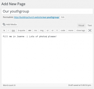 new-page